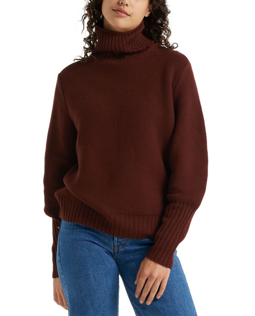 Women Seevista Funnel Neck Sweater