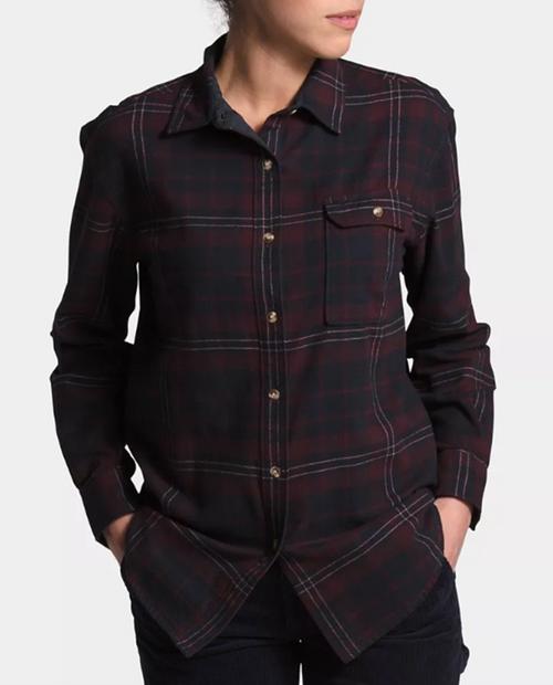 Womens Berkeley L/S Boyfriend Shirt