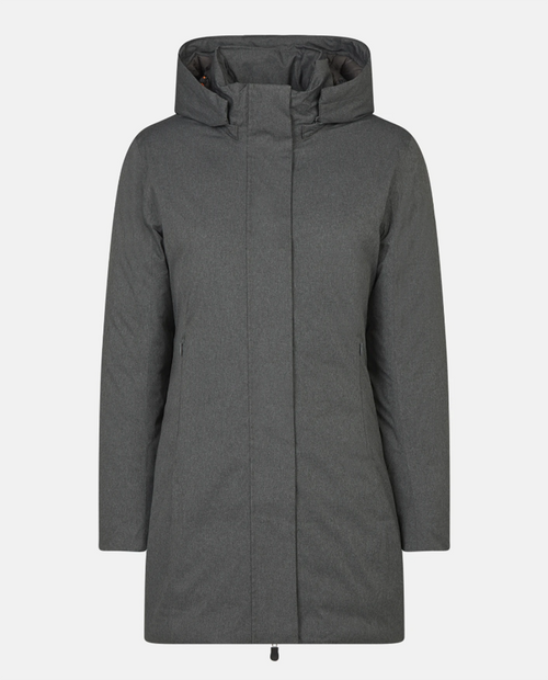 Womens Long Hooded Twon Jacket