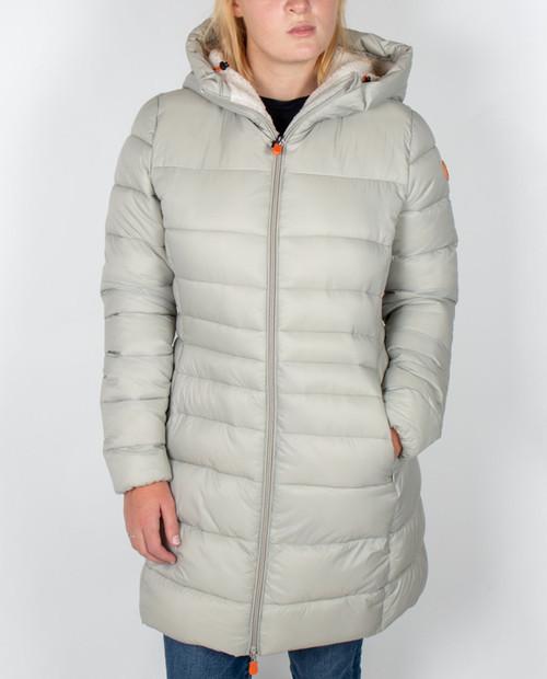 Womens fur  Lined Hooded Giga Jacket