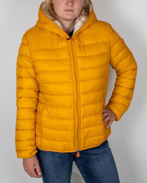 Womens Sherpa Hooded Giga Jacket