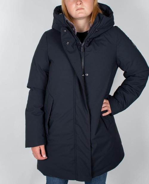 Womens Smeg Jacket With Faux Fur