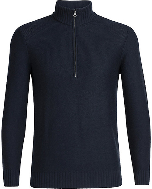 ICEBREAKER Mens Waypoint Long Sleeve Half Zip