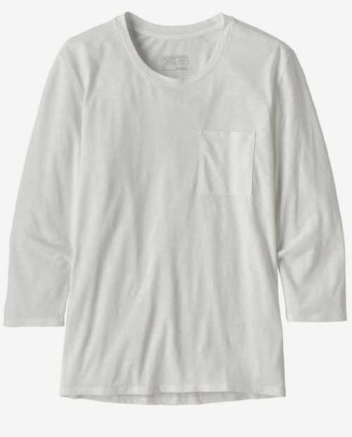 Womens Mainstay 3/4 Sleeved Top