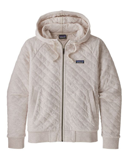 Womens Organic Cotton Quilt Hoody