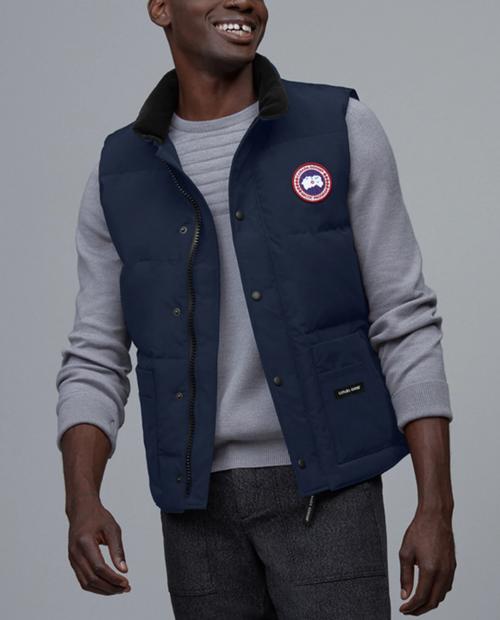 Mens Freestyle Crew Vest