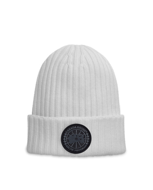 Black Disc Rib Toque