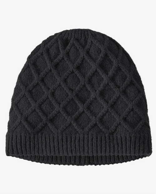 Womens Honeycomb Knit Beanie