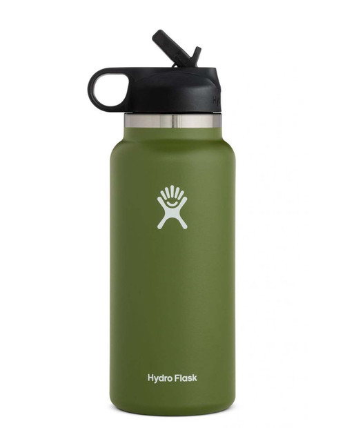 HYDRO FLASK 32 oz Wide Mouth w/ Straw Lid