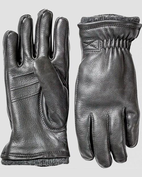 Deerskin Swisswool Rib Cuff Glove