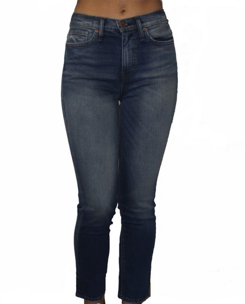 Zoey High Rise Straight Relaxed Crop