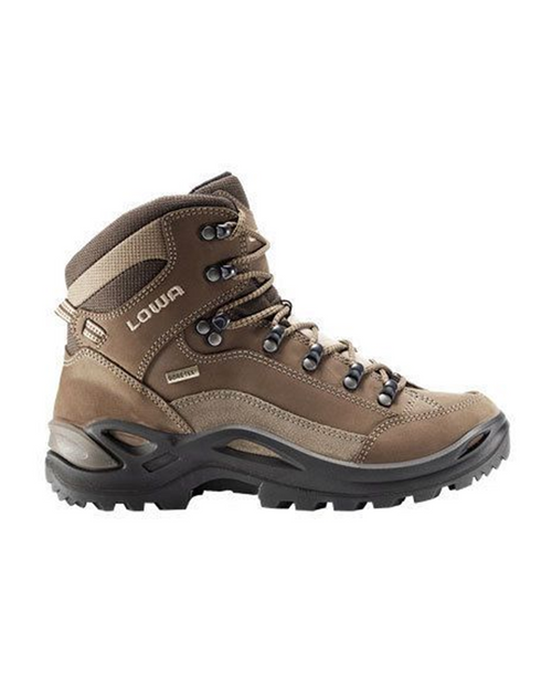 Womens Renegade Mid GTX Wide Taupe/Sepia