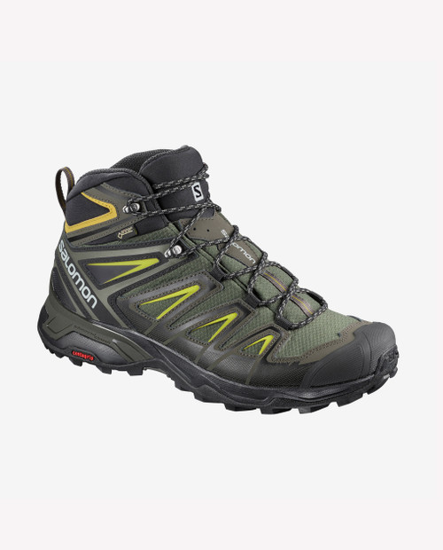 SALOMON USA Mens X Ultra 3 Mid GTX  in Castor Gray