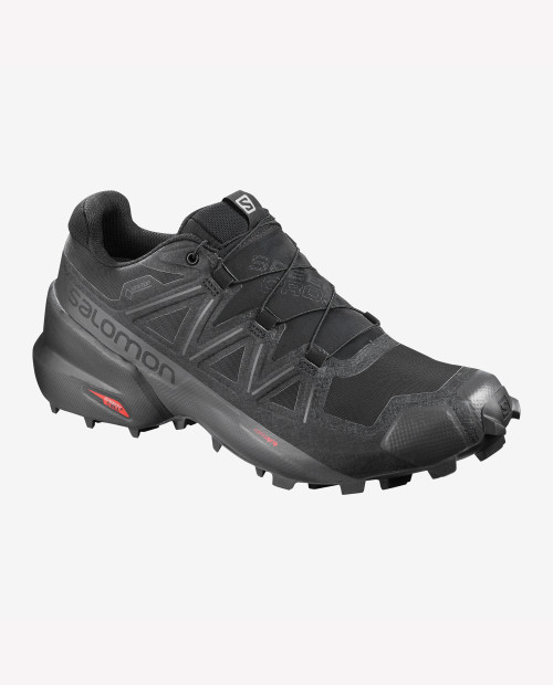 SALOMON USA Speedcross 5 GTX in BLK/BLK/PHANTOM