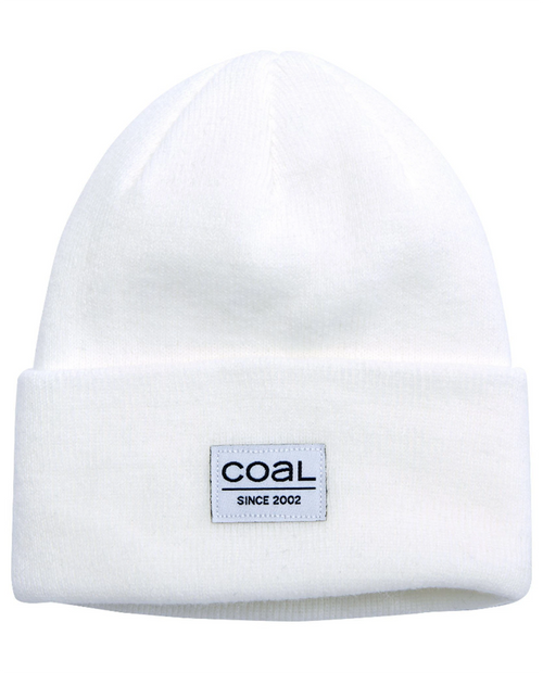 Coal The Standard Beanie - WHT_White - One Size