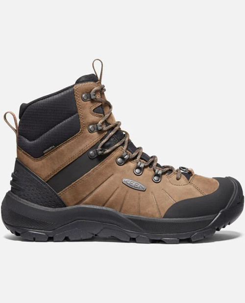 Keen Mens Revel IV Mid Polar M-Dark Earth/Caramel