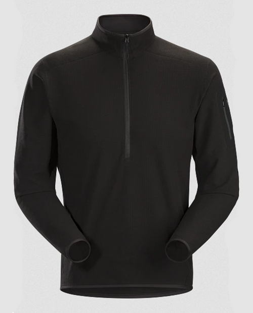 Mens Delta LT Zip Neck