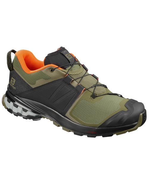 SALOMON USA Xa Wild in BURNTOLIVE/ORANGE
