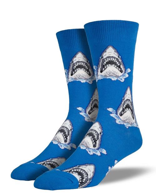 SOCKSMITH Mens Shark Attack Socks