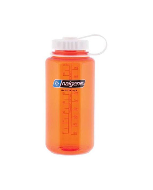 NALGENE Tritan WM 1qt Orange w/White Lid