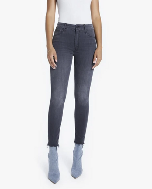 Womens High Waisted Looker Ankle Fray