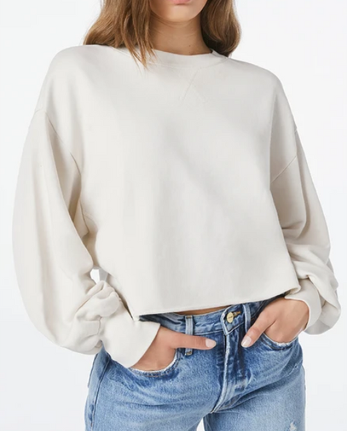 Womens Easy Shirttail Sweatshirt