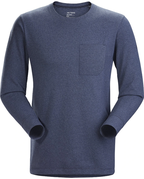 Mens Sirrus Pocket LS Top