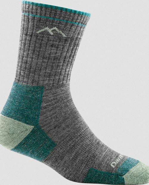 Womens Merino Wool Micro Crew Sock Cushi