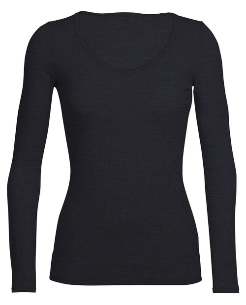 ICEBREAKER Womens Siren Long Sleeve Sweetheart