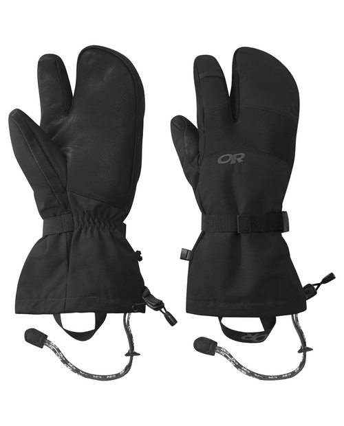 Mens Highcamp 3 Finger Gloves