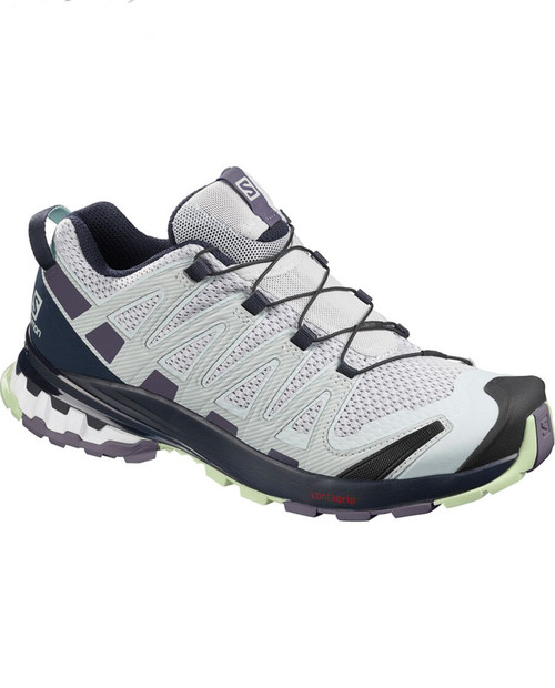 SALOMON USA Womens Xa Pro 3D v8 in PEARLBLUE/ICYMORN