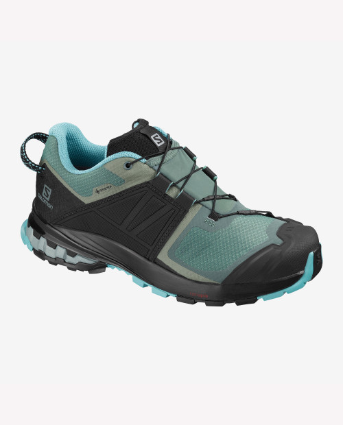 SALOMON USA Womens Xa Wild GTX in BALSAM/MEADOWBROOK