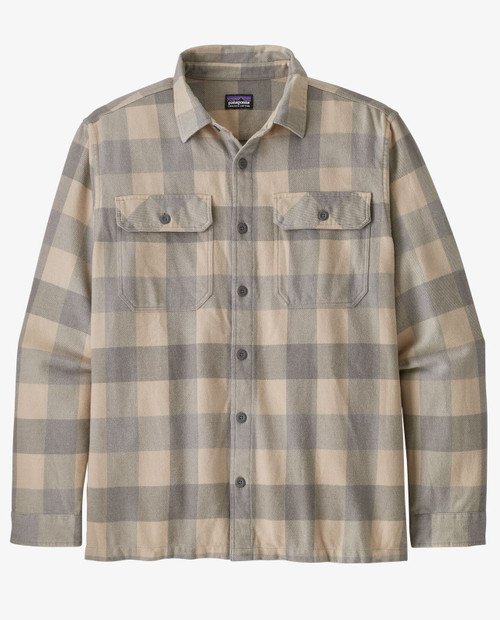 Mens L/S Natural Dye Fjord Flannel Shirt