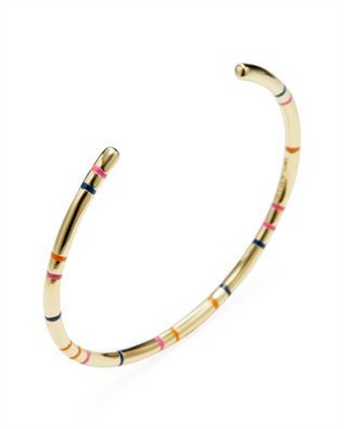 Miro Enamel Bangle
