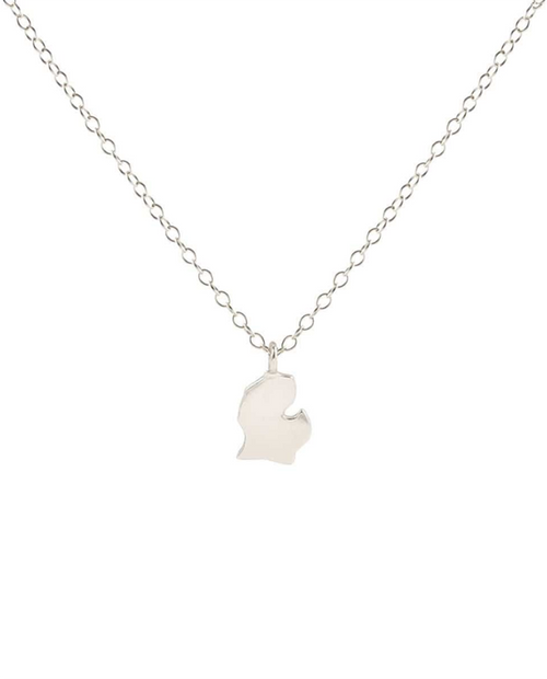 Michigan Solid Charm Necklace