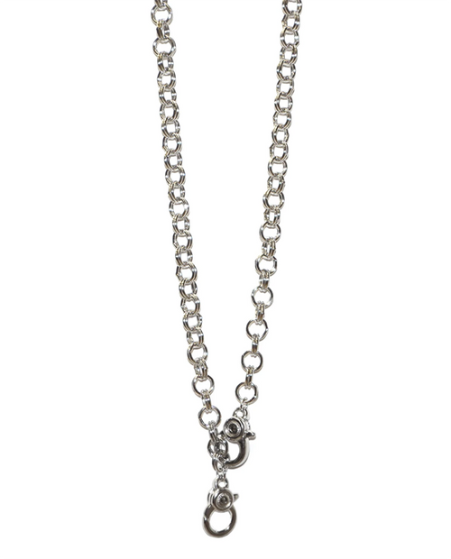 Double Clasp Charm Mask Chain