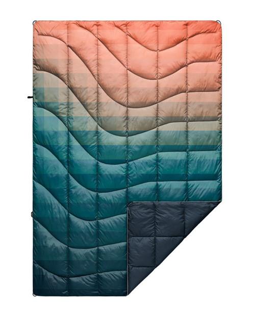 Rumpl Printed Nanoloft Blanket - Patina Pixel Fade - 1P