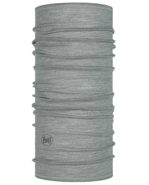 Buff Lightweight Merino Wool Light Gray