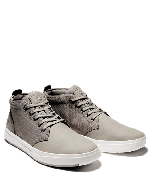 Mens Davis Square Med Grey /  Nubuck