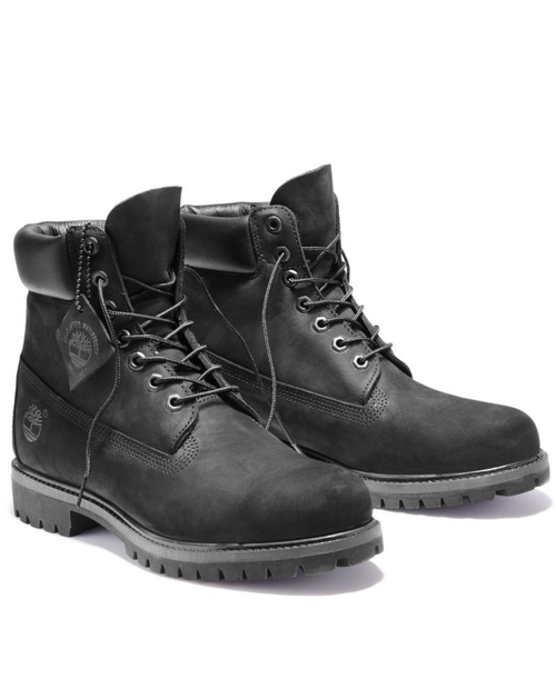 Mens 6in Premium Boot in BLACK NUBUCK