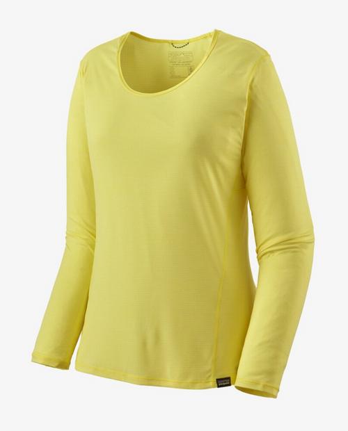 Womens Long Sleeve Cap Cool Lightweight Shirt