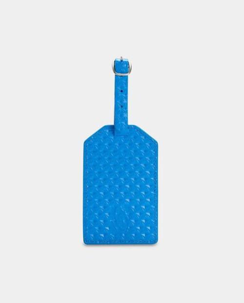 TIMBUK2 Sightsee Luggage Tag - Blue Geo