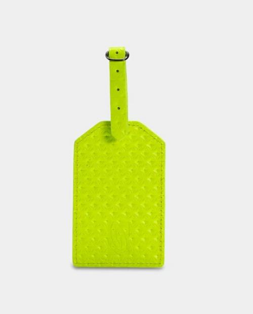 TIMBUK2 Sightsee Luggage Tag - Yellow Geo