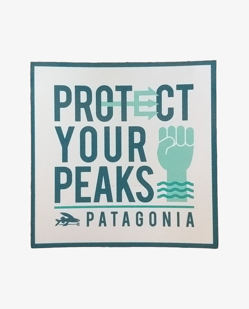 Protect Your Peaks Sticker