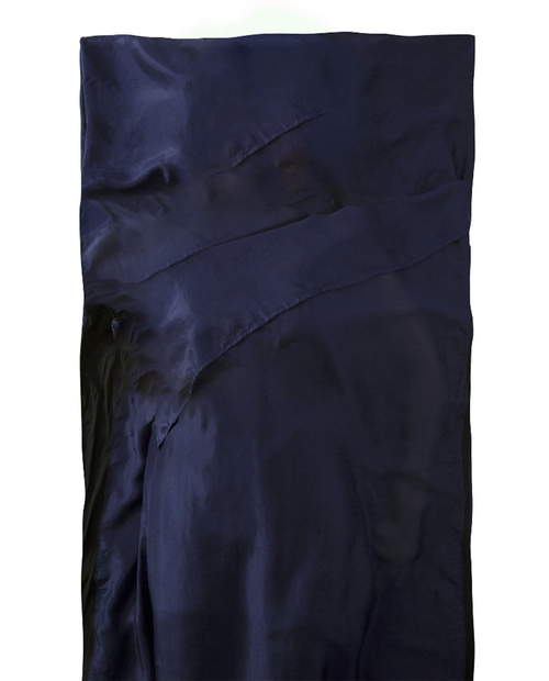 Premiem Silk Travel Liner - Navy Blue