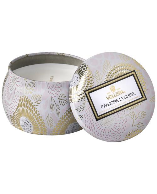 VOLUSPA Mini Decorative Tin Candle 25 Hour