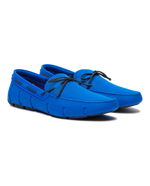 Mens Braided Lace Loafer