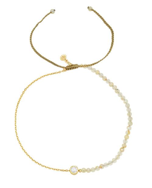 TAI 2MM Bracelet w/ Gold Vermeil Chain
