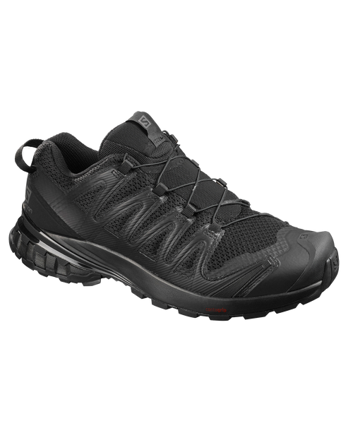 SALOMON USA Xa Pro 3D v8 Wide in BLACK/BLACK