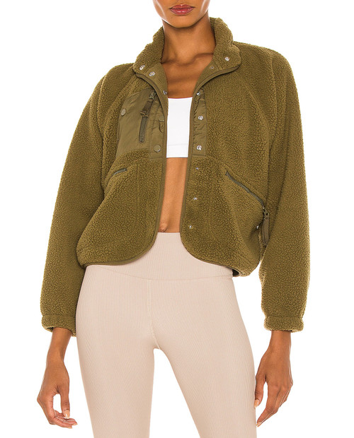 FREE PEOPLE Womens Hit the Slopes Jacket
